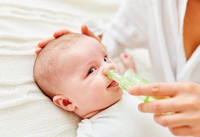 Bebeklerde burun tıkanıklığı