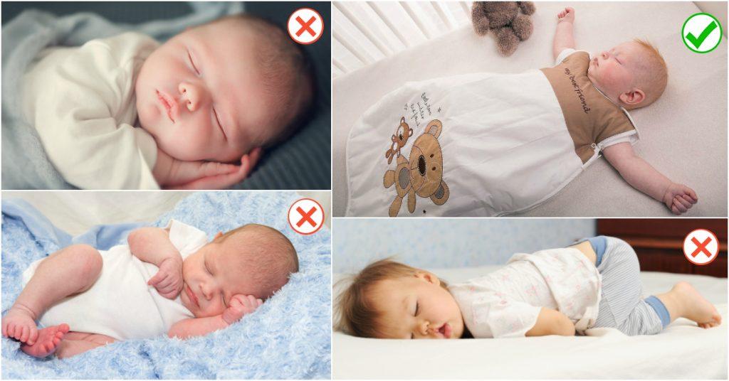 bebeklerde uyku pozisyonları
