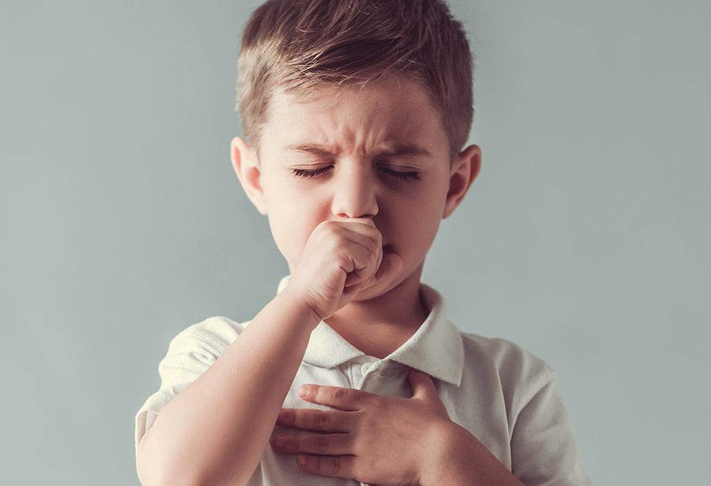 Bebeklerde ve çocuklarda kuru öksürük